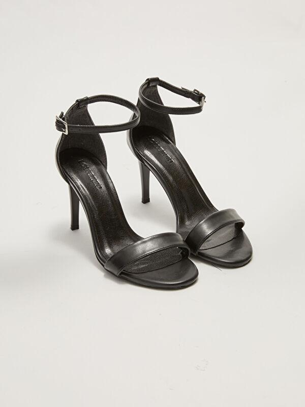 Tek Bantlı Bilekten Bağlamalı Kadın Topuklu Ayakkabı - LC WAIKIKI