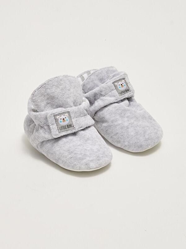 Cırt Cırtlı Yürüme Öncesi Erkek Bebek Ev Ayakkabısı - LC WAIKIKI