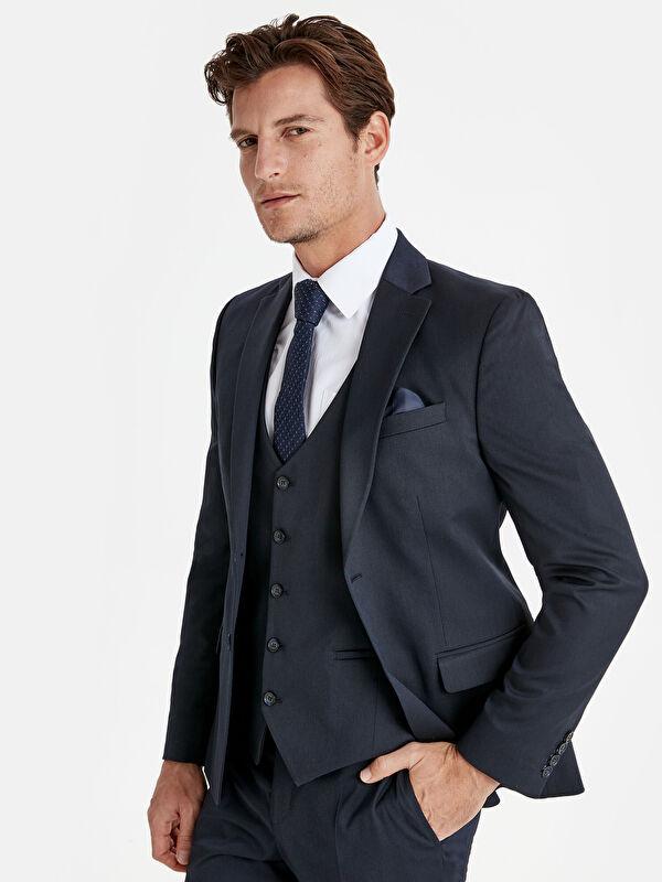 Dar Kalıp Takım Elbise Ceketi - LC WAIKIKI