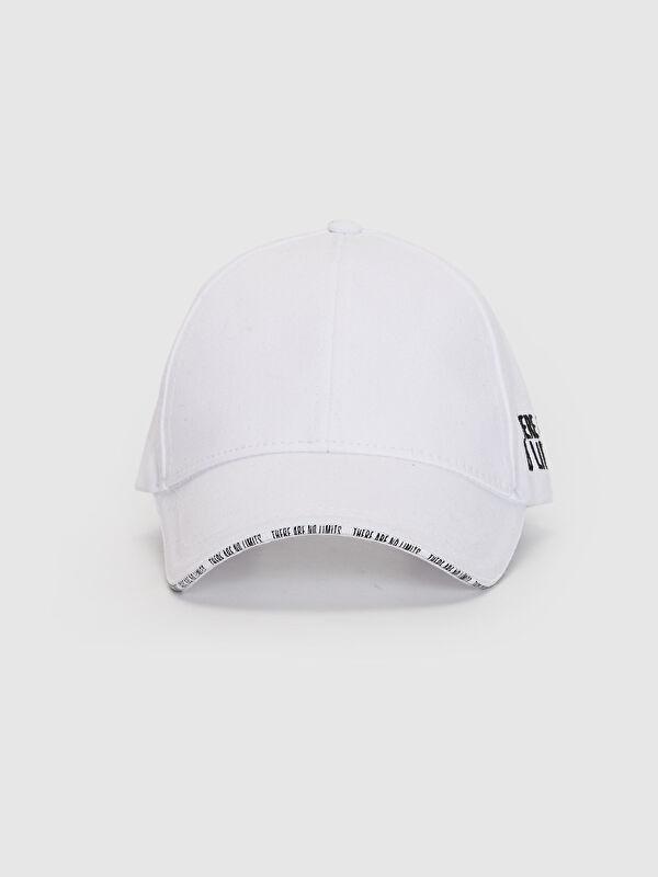 Yazı Detaylı Gabardin Şapka - LC WAIKIKI