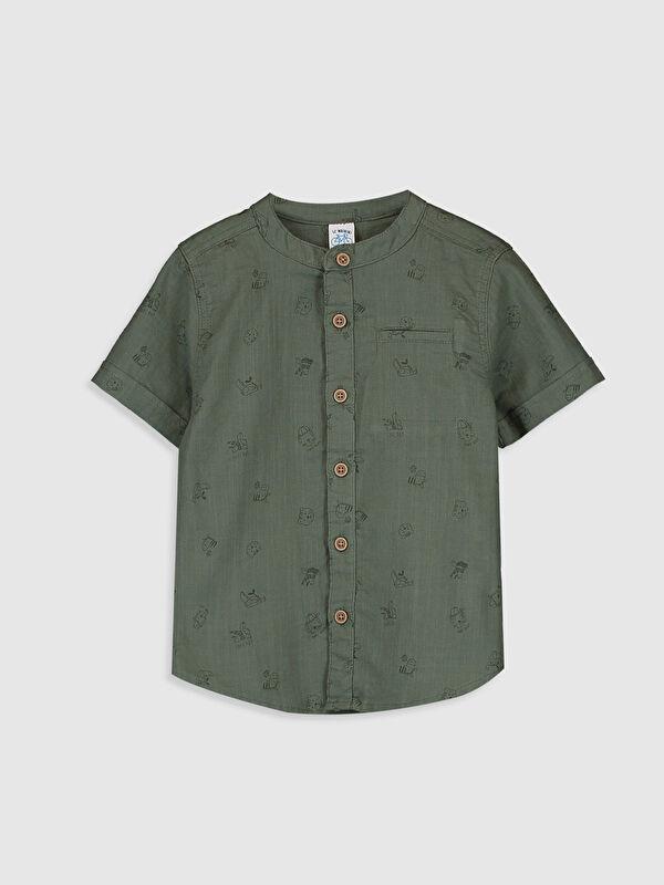 Erkek Bebek Baskılı Gömlek - LC WAIKIKI
