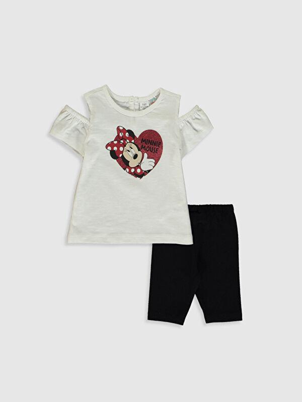 Kız Bebek Minnie Mouse Baskılı Takım 2'li - LC WAIKIKI