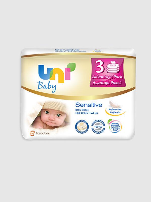 Uni Baby Sensitive Islak Havlu 3'lü Paket - Markalar