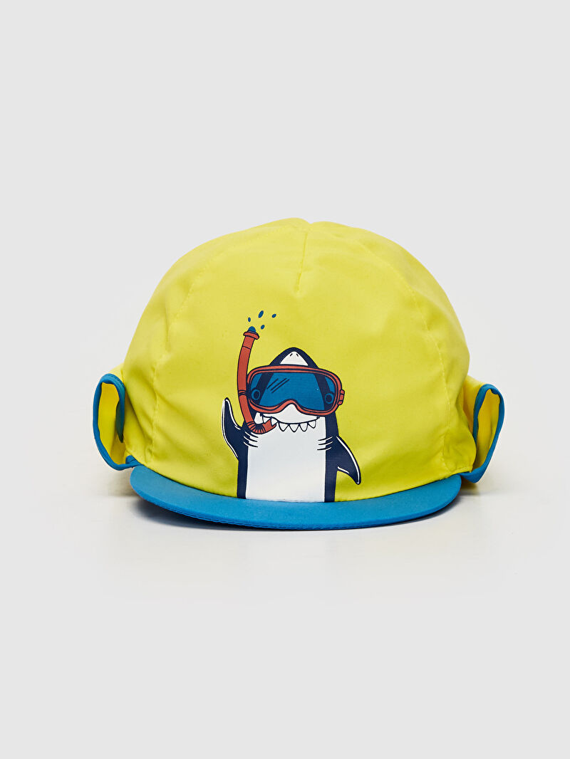 %100 Polyester  %100 Polyester  Baskılı Astarsız Şapka Penye Erkek Bebek Baskılı Şapka