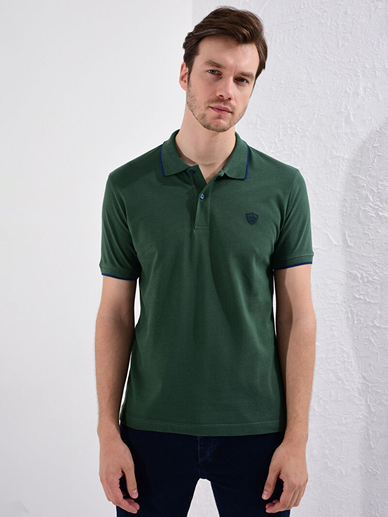 %100 Pamuk  İnce Polo Yaka Kısa Kol Düz Standart Tişört Pike Yüksek Pamuk İçerir Polo Yaka Basic Pike Tişört