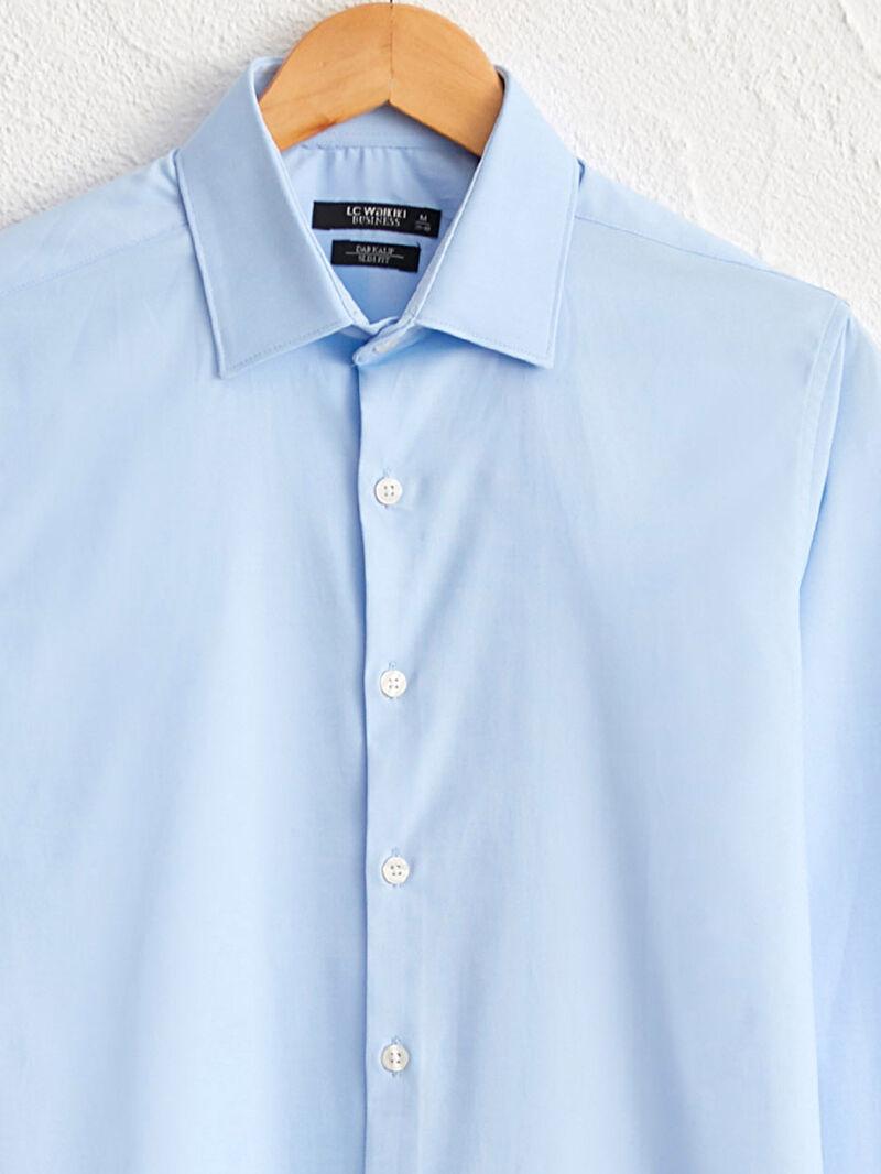 %52 Pamuk %43 Polyester %5 ELASTAN  Slim Fit Oxford Gömlek
