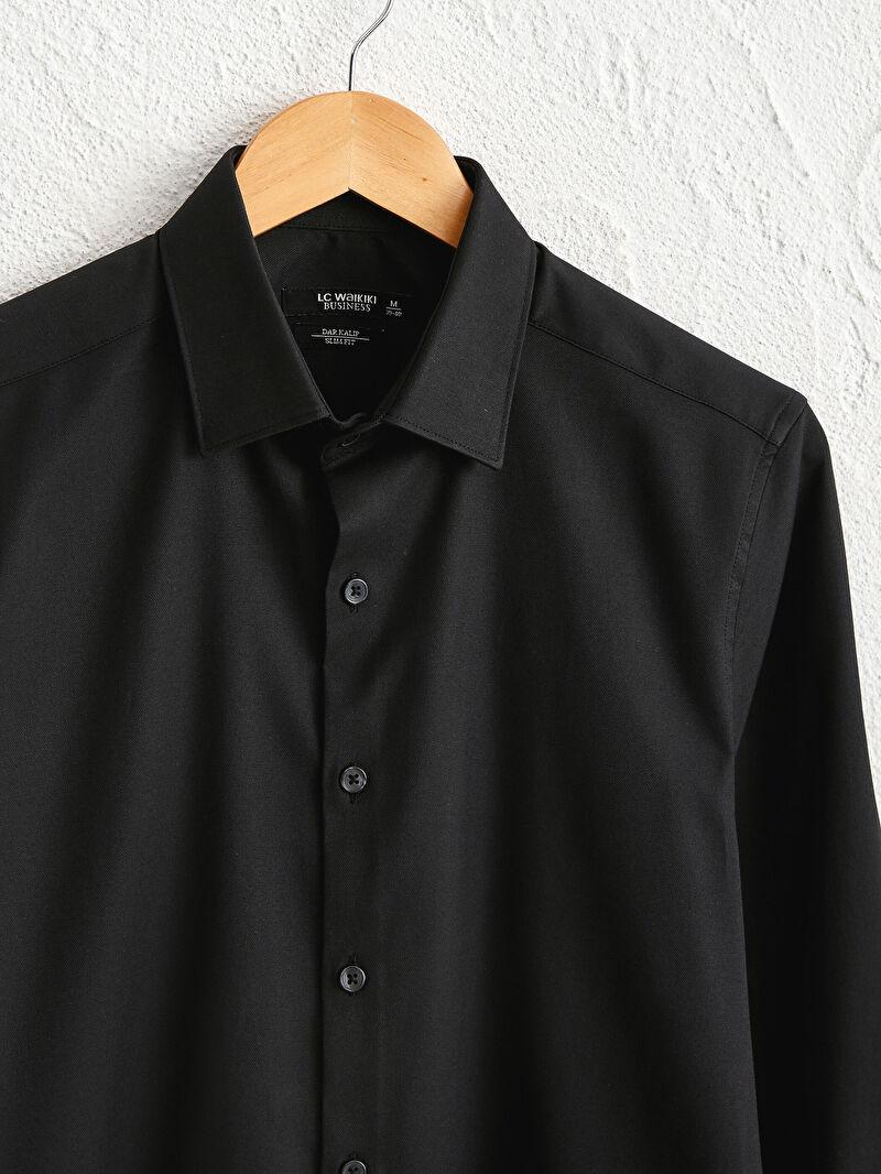 %51 Pamuk %45 Polyester %4 ELASTAN  Slim Fit Oxford Gömlek