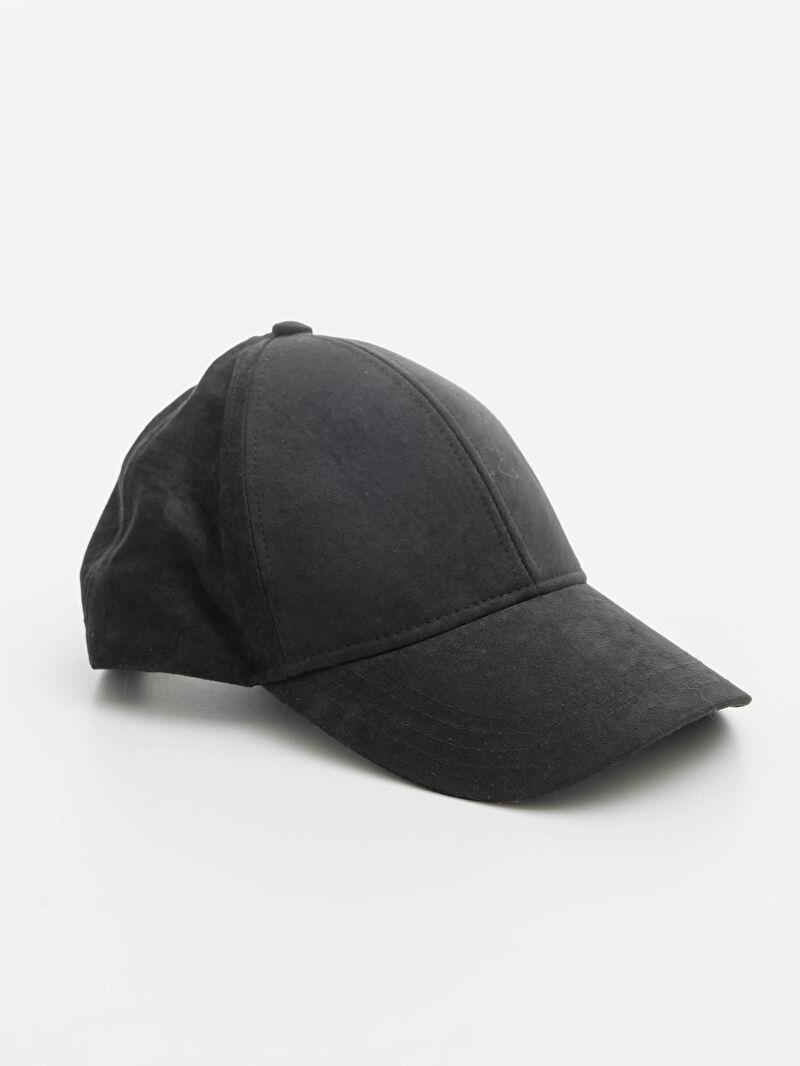 Siyah Süet Şapka 0W1061Z8 LC Waikiki