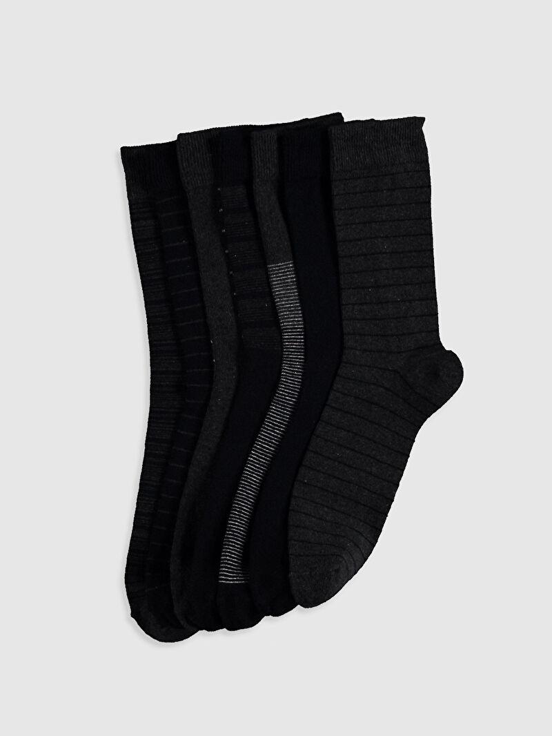 Lacivert Soket Çorap 7'li 0W2826Z8 LC Waikiki