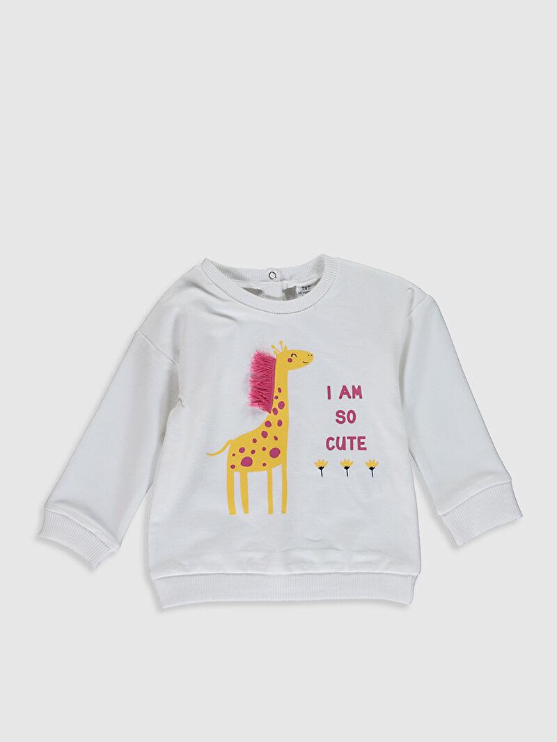 Kız Bebek Kız Bebek Sweatshirt ve Pantolon