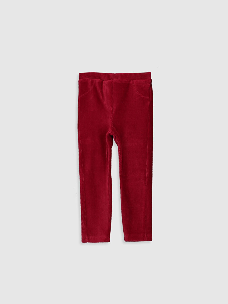 Kırmızı Kız Bebek Basic Tayt 0W3523Z1 LC Waikiki