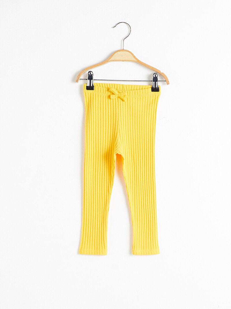 Sarı Kız Bebek Uzun Tayt 0W3525Z1 LC Waikiki