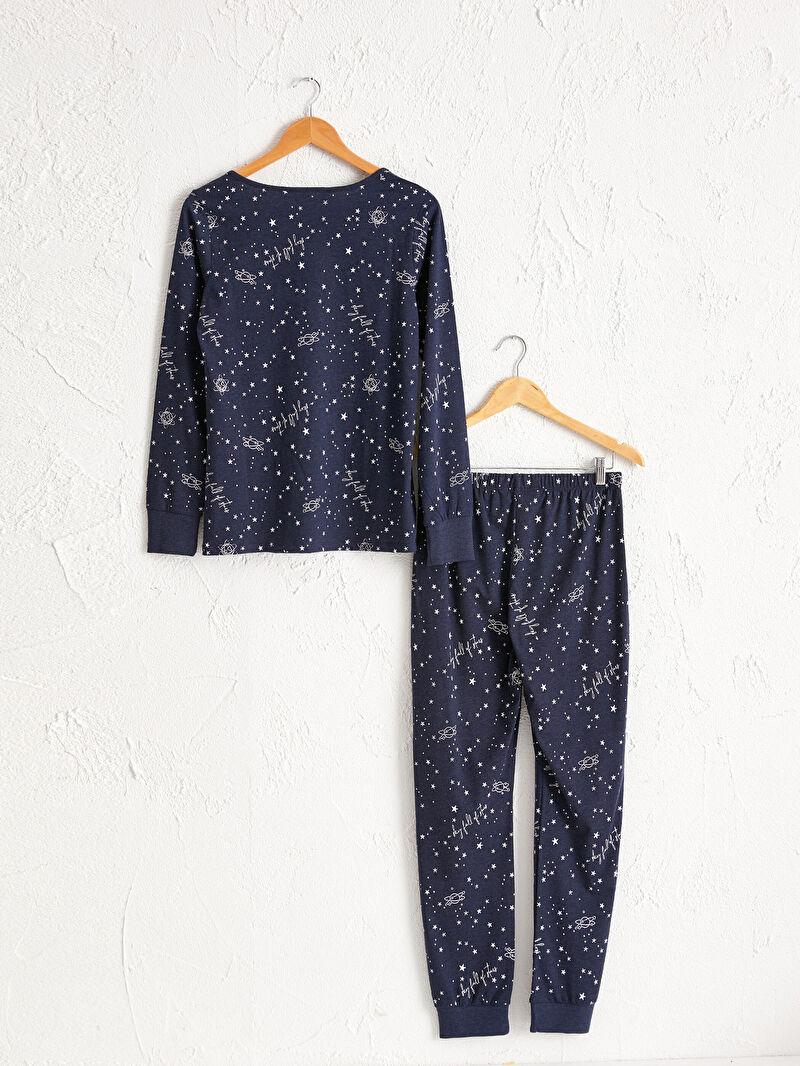 %65 Pamuk %35 Polyester  %65 Pamuk %35 Polyester  Baskılı Pijama Takım Penye Yüksek Pamuk İçerir Baskılı Pijama Takımı