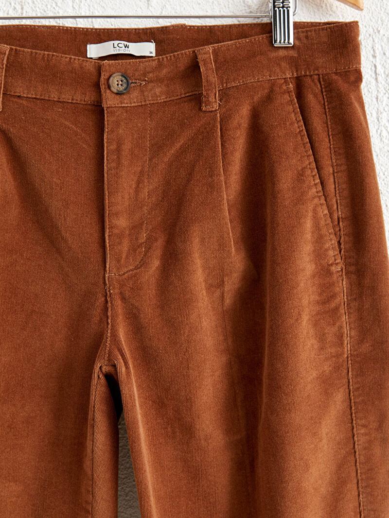 %82 Pamuk %16 Polyester %2 ELASTAN  Kalın Dar Pantolon Gabardin Yüksek Pamuk İçerir Slim Fit Gabardin Pantolon