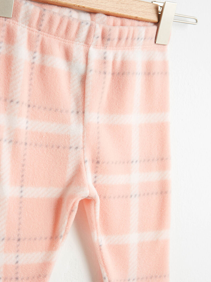 Kız Bebek Polar Pijama Takımı
