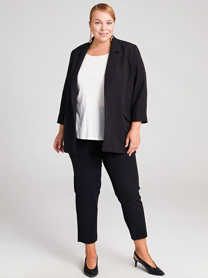 Kadın Esnek Blazer Ceket