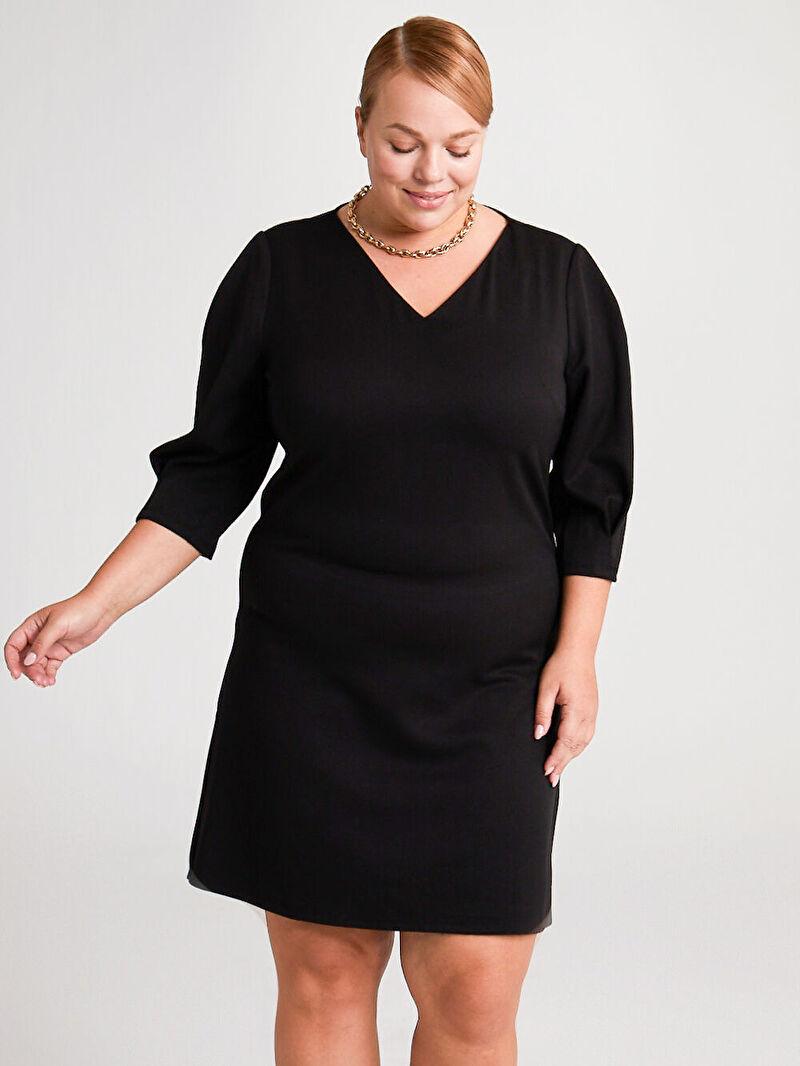 Kadın Düz Kesim Salaş Elbise