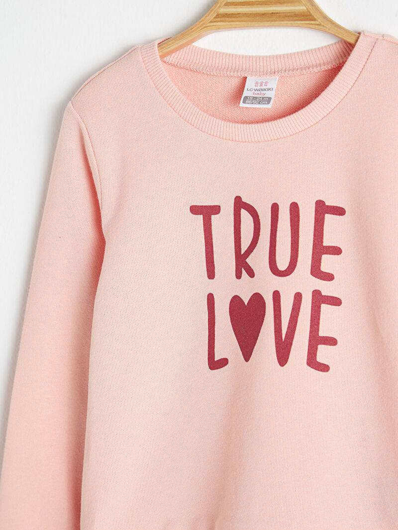 Kız Bebek Kız Bebek Sweatshirt Ve Tayt Takım