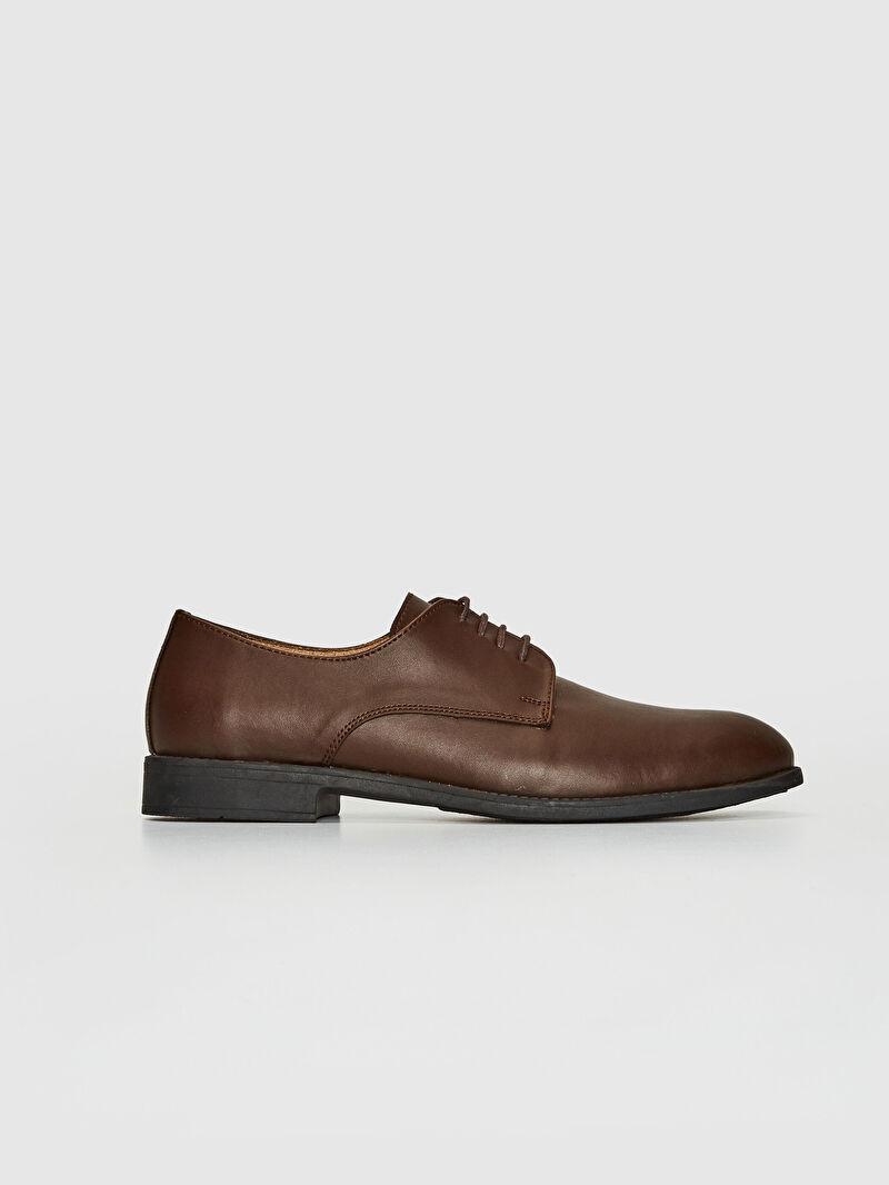 %0 Diğer malzeme (pvc)  %0 Diğer malzeme (termoplastik)  %0 Diğer malzeme (poliüretan) %0 Tekstil Malzemeleri ( %100 Polyester  )  Klasik Ayakkabı Dokuma Astar Erkek Bağcıklı Klasik Derby Ayakkabı
