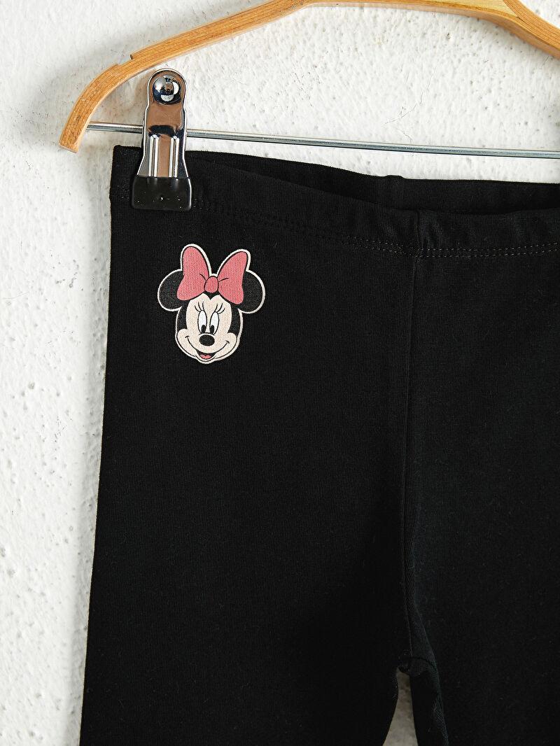 Kız Bebek Kız Bebek Minnie Mouse Baskılı Tayt