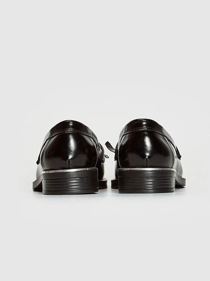 LC Waikiki Siyah Kadın Loafer Ayakkabı