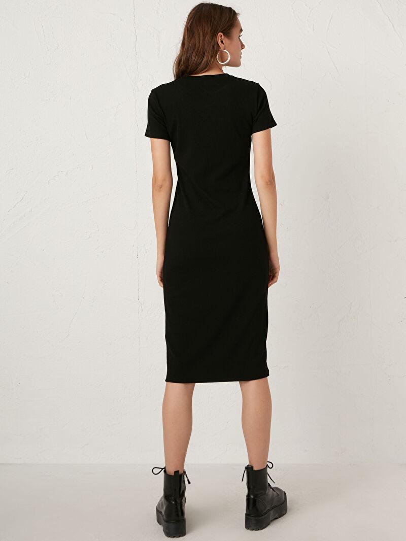 Kadın Esnek Kalem Elbise