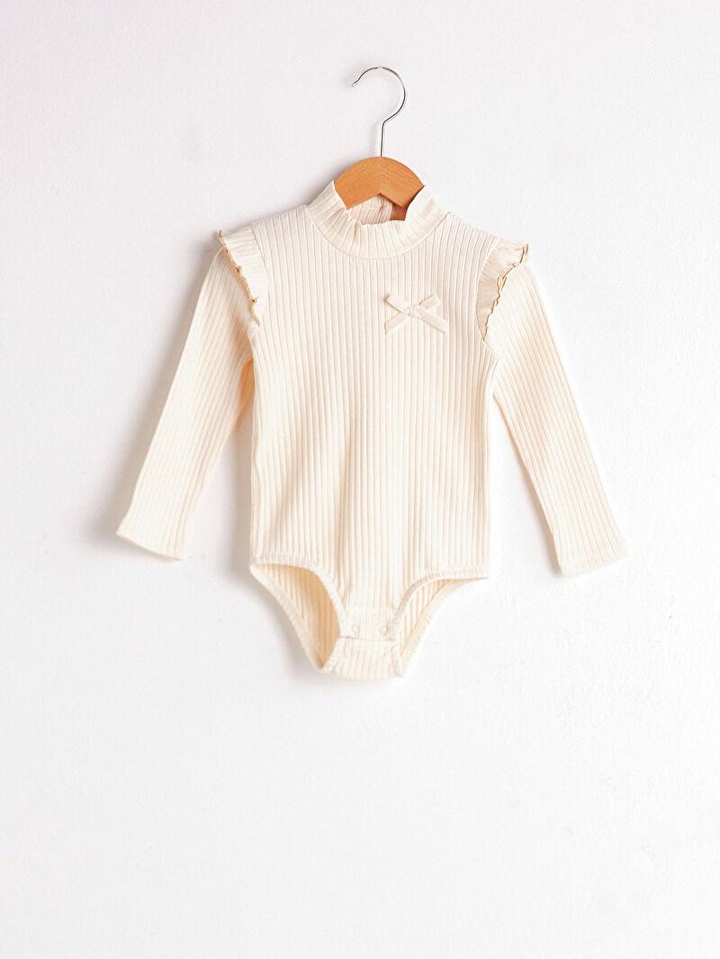 Pembe Kız Bebek Çıtçıtlı Body 0WGS52Z1 LC Waikiki