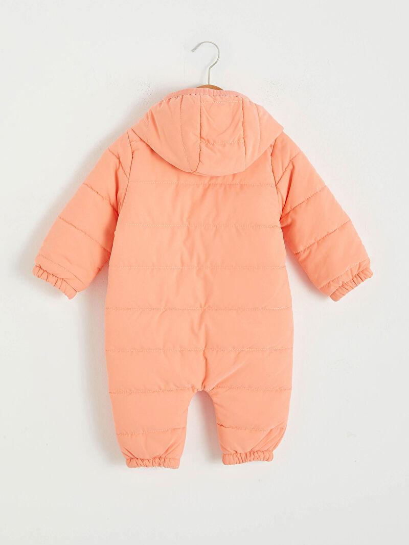 %100 Polyester  %100 Pamuk  %100 Polyester  %100 Polyester  Aksesuarsız Patiksiz Kalın Kapüşonlu Uzun Kol Düz Astronot Mont %100 Pamuk Kız Bebek Astronot Mont