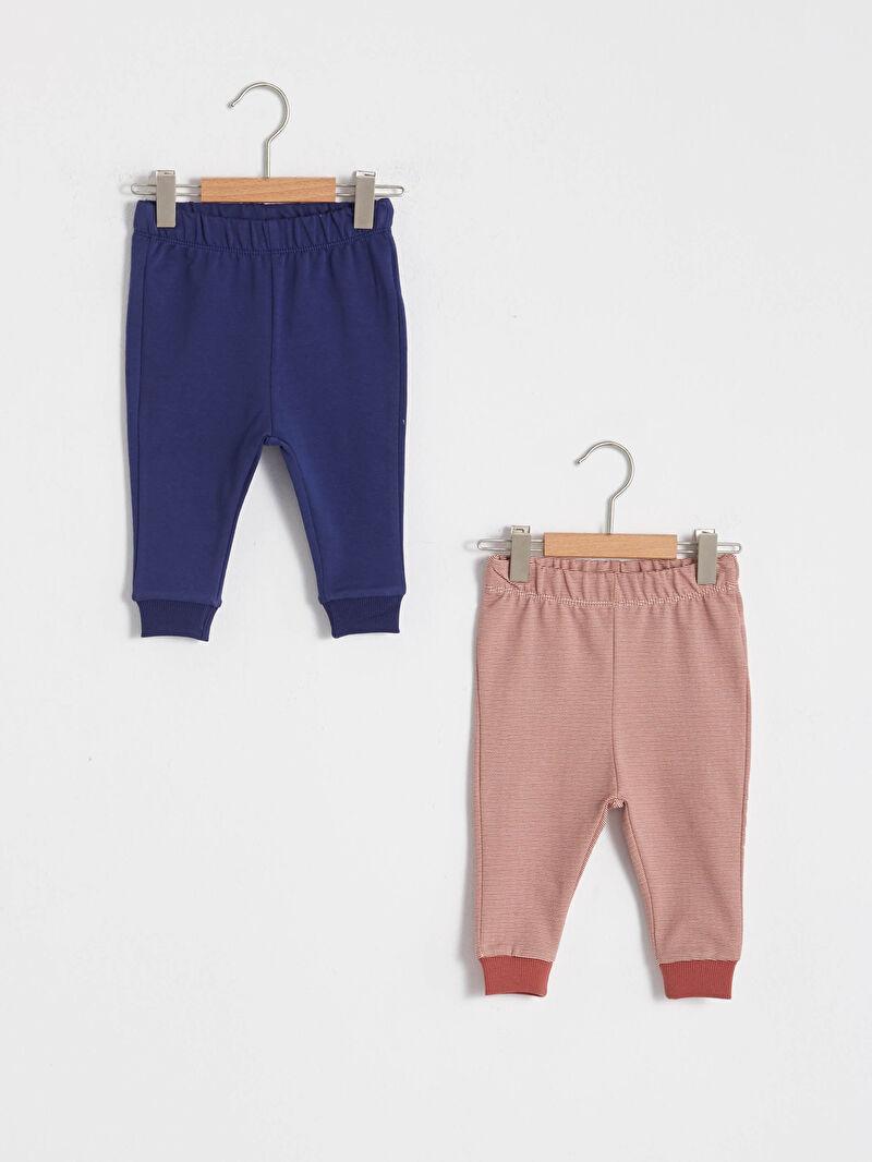 Lacivert Erkek Bebek Pantolon 2'li 0WIT41Z1 LC Waikiki