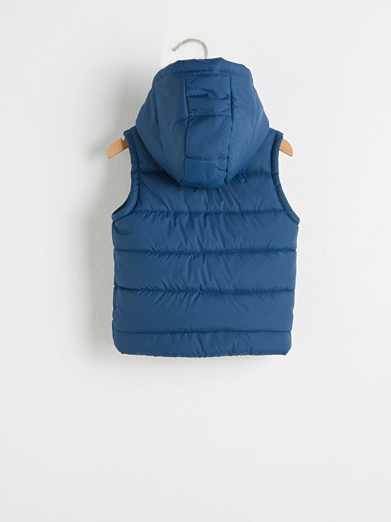 %100 Poliamid  %100 Polyester  %100 Polyester  Kapüşon Yaka Kolsuz Yelek Düz Erkek Bebek Şişme Yelek