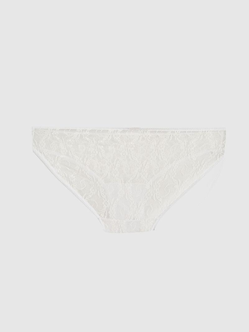 %100 Poliamid  %96 Pamuk %4 ELASTAN  Bikini Dantel Külot Desenli Yüksek Pamuk İçerir Dantelli Pamuklu Külot