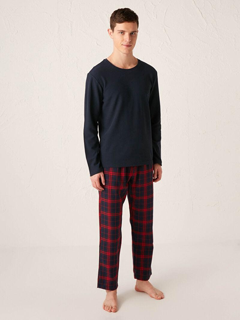 Kırmızı Standart Kalıp Pijama Takımı 0WJB29Z8 LC Waikiki