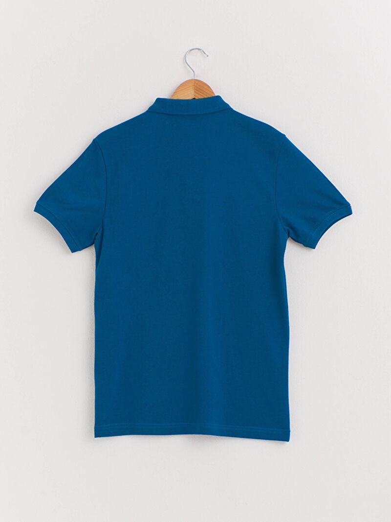 %100 Pamuk  İnce Tişört Polo Yaka Kısa Kol Düz Pike Yüksek Pamuk İçerir Polo Yaka Pamuklu Tişört