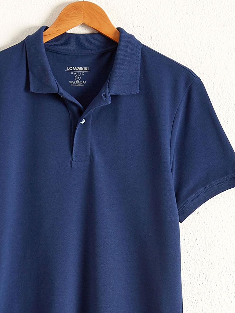 Erkek Polo Yaka Pamuklu Tişört