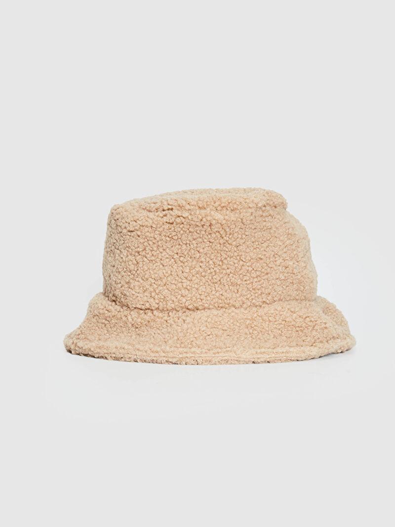 Bej Kadın Bucket Şapka S13176Z8 LC Waikiki
