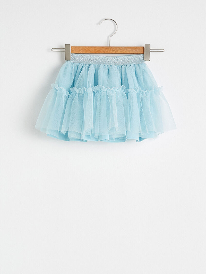 %100 Polyester  %100 Pamuk  %100 Polyester  Şık Standart İnce Etek Plili Gabardin %100 Pamuk Kız Bebek Tül Etek