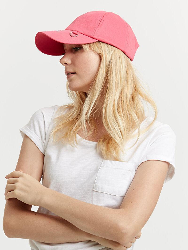%98 Pamuk %2 ELASTAN  Yazı Baskılı Şapka