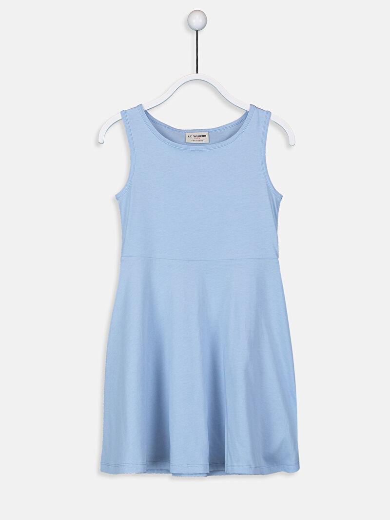 Kız Çocuk Kız Çocuk Pamuklu Elbise 2'li