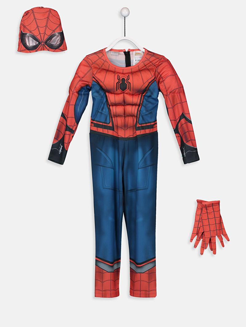 Kırmızı Erkek Çocuk Spiderman Kostüm 9SM496Z4 LC Waikiki