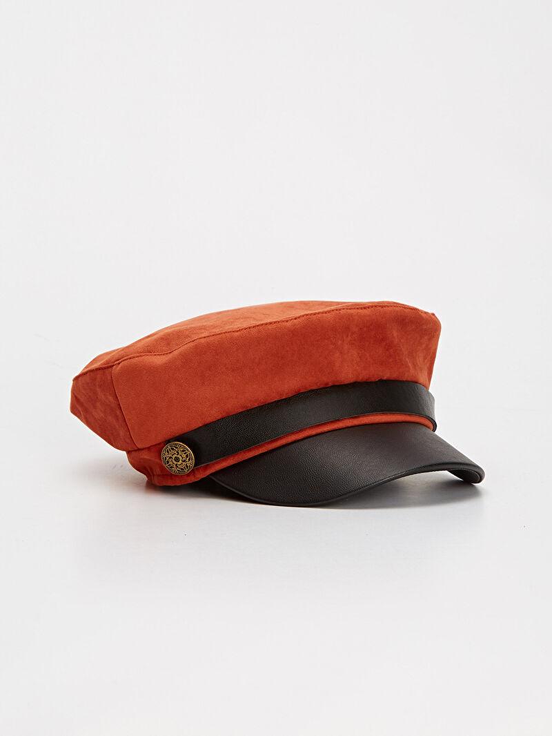 Turuncu Süet Denizci Şapka 9W1832Z8 LC Waikiki