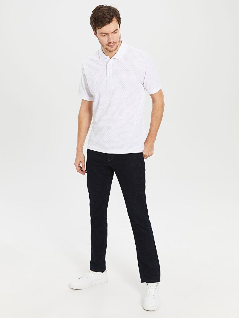 Мужская футболка-поло с короткими рукавами -0S1731Z8-K7U