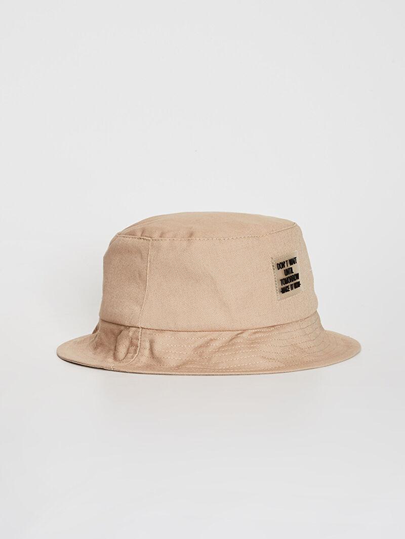 Bej Gabardin Bucket Şapka 0S9510Z8 LC Waikiki