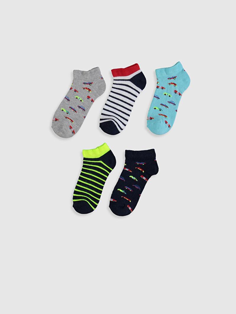 Носки укороченные для мальчика, 5 шт -0S1763Z4-K00