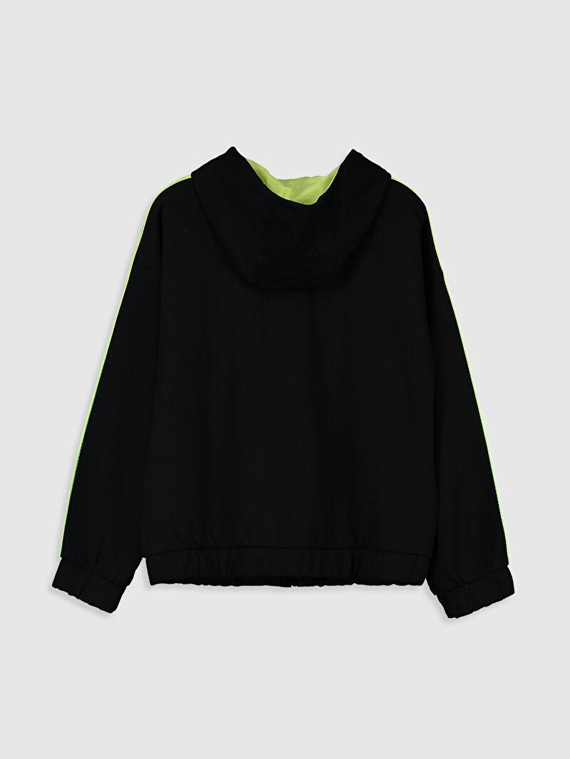 %100 Pamuk  %50 Pamuk %50 Polyester  %100 Pamuk Kapüşonlu Düz Spor Hırka Uzun Kol Kalın Sweatshirt Kumaşı Kız Çocuk Fermuarlı Kapüşonlu Sweatshirt