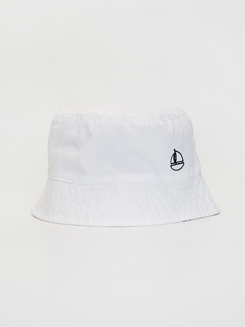 Ekru Erkek Bebek Kova Şapka 0S4570Z1 LC Waikiki