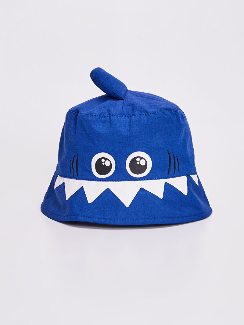 Mavi Erkek Bebek Baskılı Şapka 0S4573Z1 LC Waikiki