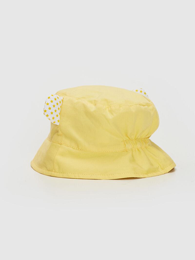 Erkek Bebek Erkek Bebek Desenli Kova Şapka